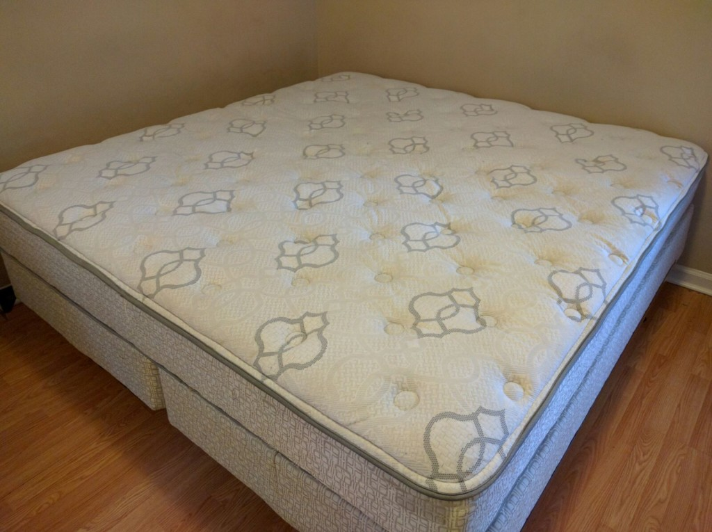 dirty mattress clean
